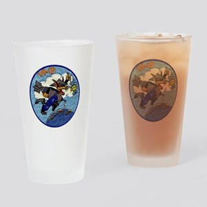 VP 19 Wolf Patch Drinking Glass
