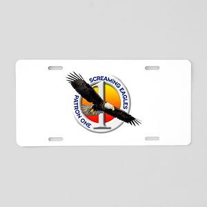 VP-1 Commemorative Aluminum License Plate