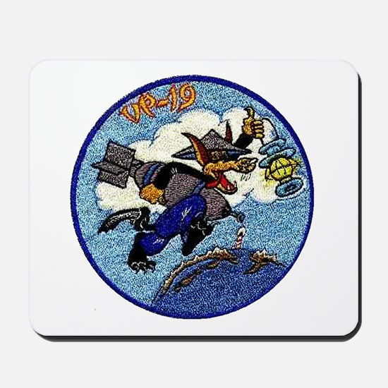 VP 19 Wolf Patch Mousepad