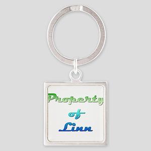 Property Of Linn Female Keychains