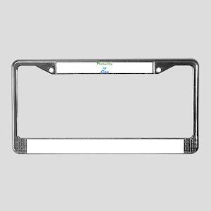 Property Of Linn Female License Plate Frame