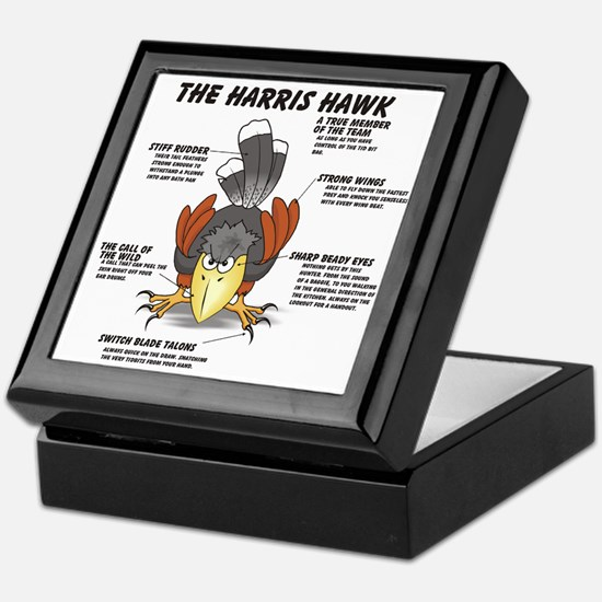 The Harris Hawk Keepsake Box