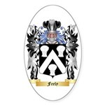 Feely Sticker (Oval 50 pk)