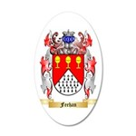Feehan 35x21 Oval Wall Decal