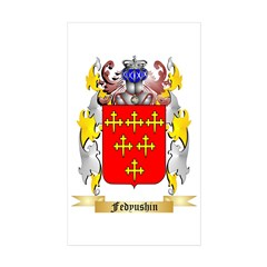 Fedyushin Sticker (Rectangle 50 pk)