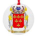 Fedyunkin Round Ornament