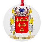 Fedunov Round Ornament