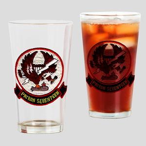 VP 17 White Ligtnings Drinking Glass