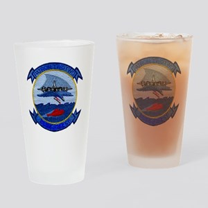 VP 22 Blue Geese 2000 Drinking Glass