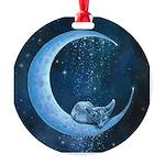 Quiet, At Last Ornament