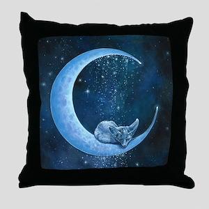 Quiet, At Last Throw Pillow