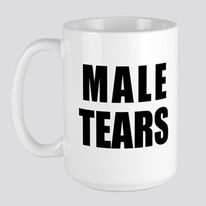 Male Tears Large Mug Mugs