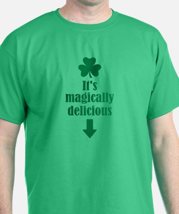 It's magically delicious shamrock T-Shirt
