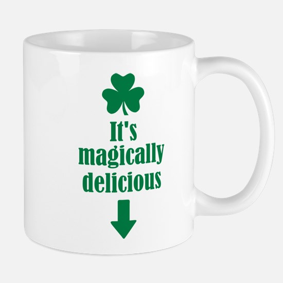 It's magically delicious shamrock Mug