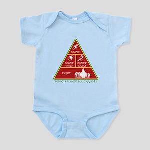 Buddy's Four Food Groups Infant Bodysuit