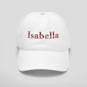 Isabella Pink Flowers Baseball Cap
