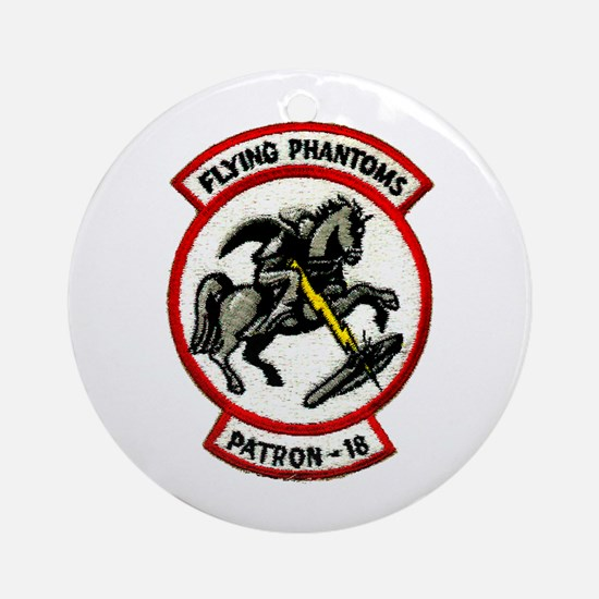VP 18 Flying Phantoms Ornament (Round)