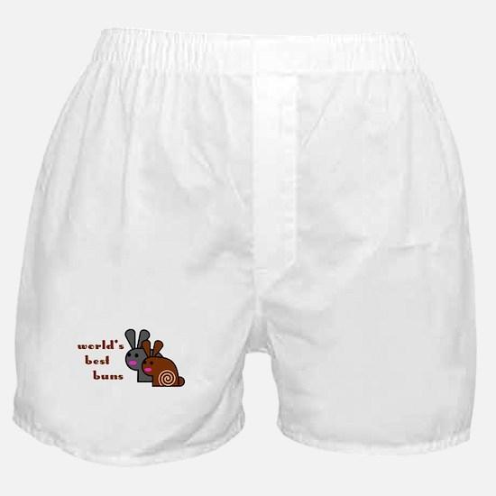 World's Best Buns Boxer Shorts