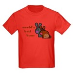 World's Best Buns Kids Dark T-Shirt