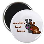 World's Best Buns Magnet