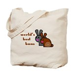 World's Best Buns Two Sided Tote Bag