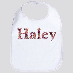 Haley Pink Flowers Bib