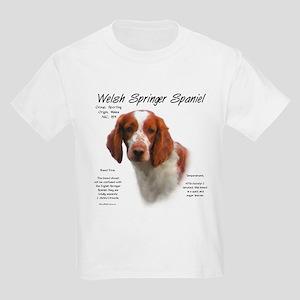 Welsh Springer Spaniel Kids Light T-Shirt
