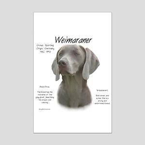Weimaraner Mini Poster Print