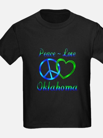 Peace Love Oklahoma T