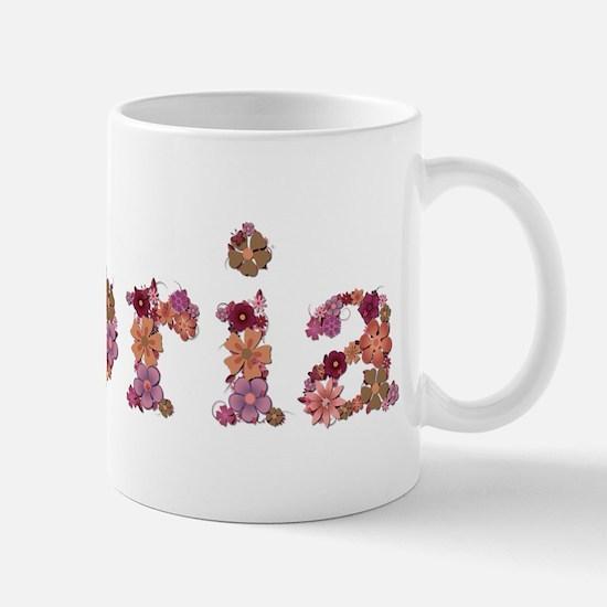 Gloria Pink Flowers Mugs