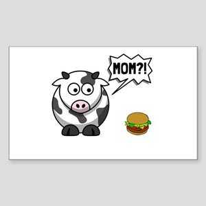 Cow Mom Sticker