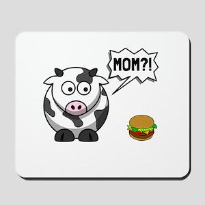 Cow Mom Mousepad