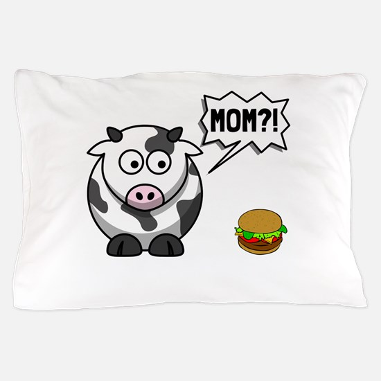 Cow Mom Pillow Case