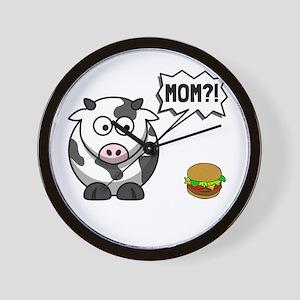 Cow Mom Wall Clock