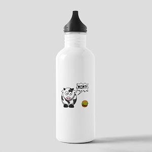 Cow Mom Water Bottle