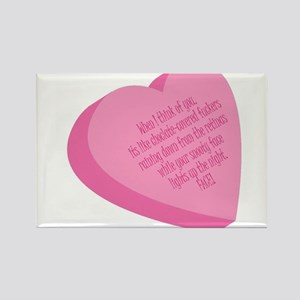 candyheart Rectangle Magnet