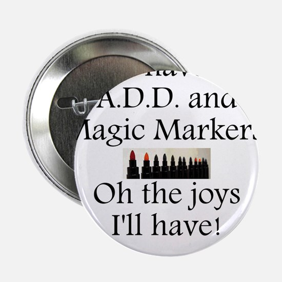 """Magic Marker Front.GIF 2.25"""" Button"""