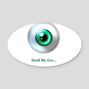 Eye Oval Car Magnet