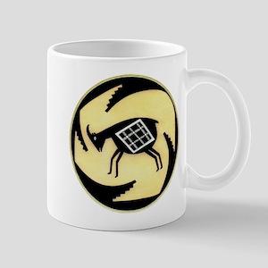 MIMBRES BUTTING GOAT BOWL DESIGN Mug