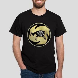MIMBRES BUTTING GOAT BOWL DESIGN Dark T-Shirt