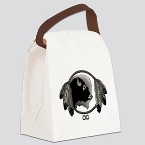 Metis Art Spirit Animal Tribal Gi Canvas Lunch Bag