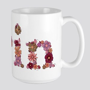 Erin Pink Flowers Mugs