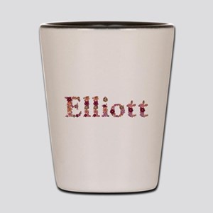 Elliott Pink Flowers Shot Glass