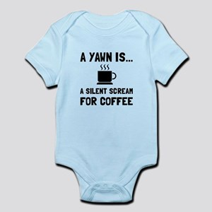 Yawn Coffee Body Suit