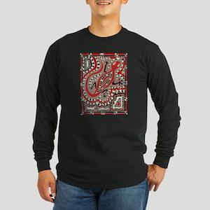 Art Gecko Long Sleeve T-Shirt
