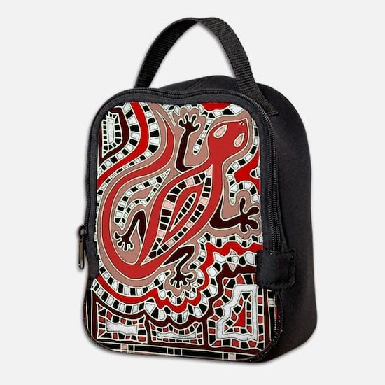 Art Gecko Neoprene Lunch Bag