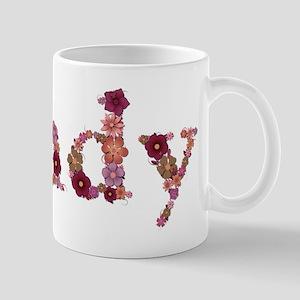 Cindy Pink Flowers Mugs