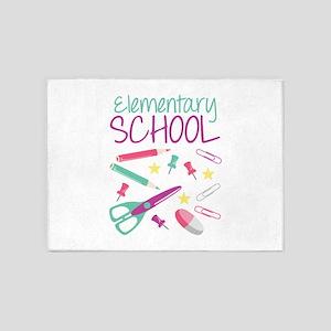 Elementary School 5'x7'Area Rug