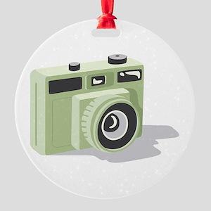 Photo Camera Ornament