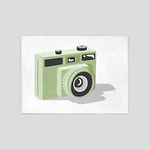 Photo Camera 5'x7'Area Rug